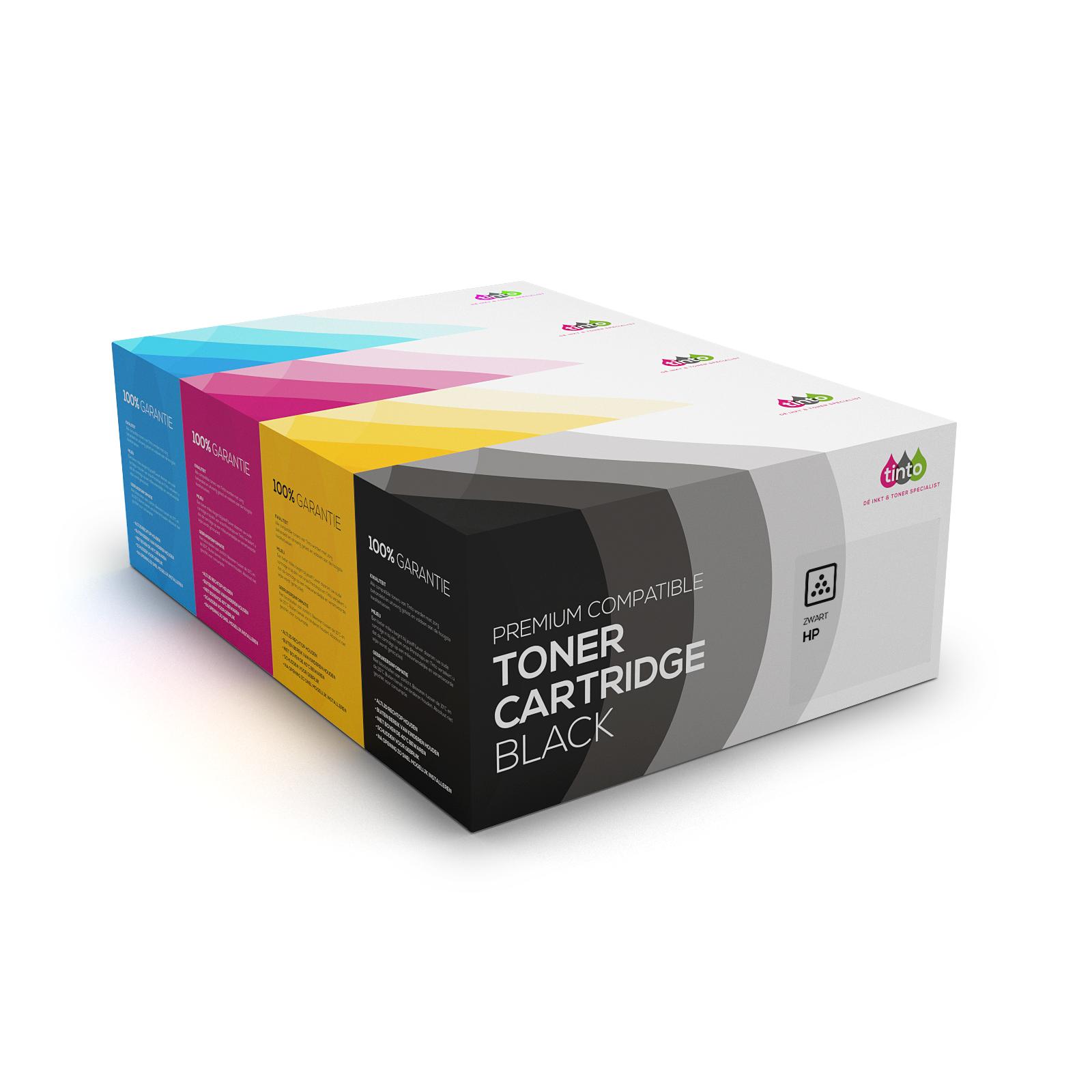 HP Tonerset 507X CE400X/1/2/3A (BK/C/M/Y) Multipack | Tinto Huismerk