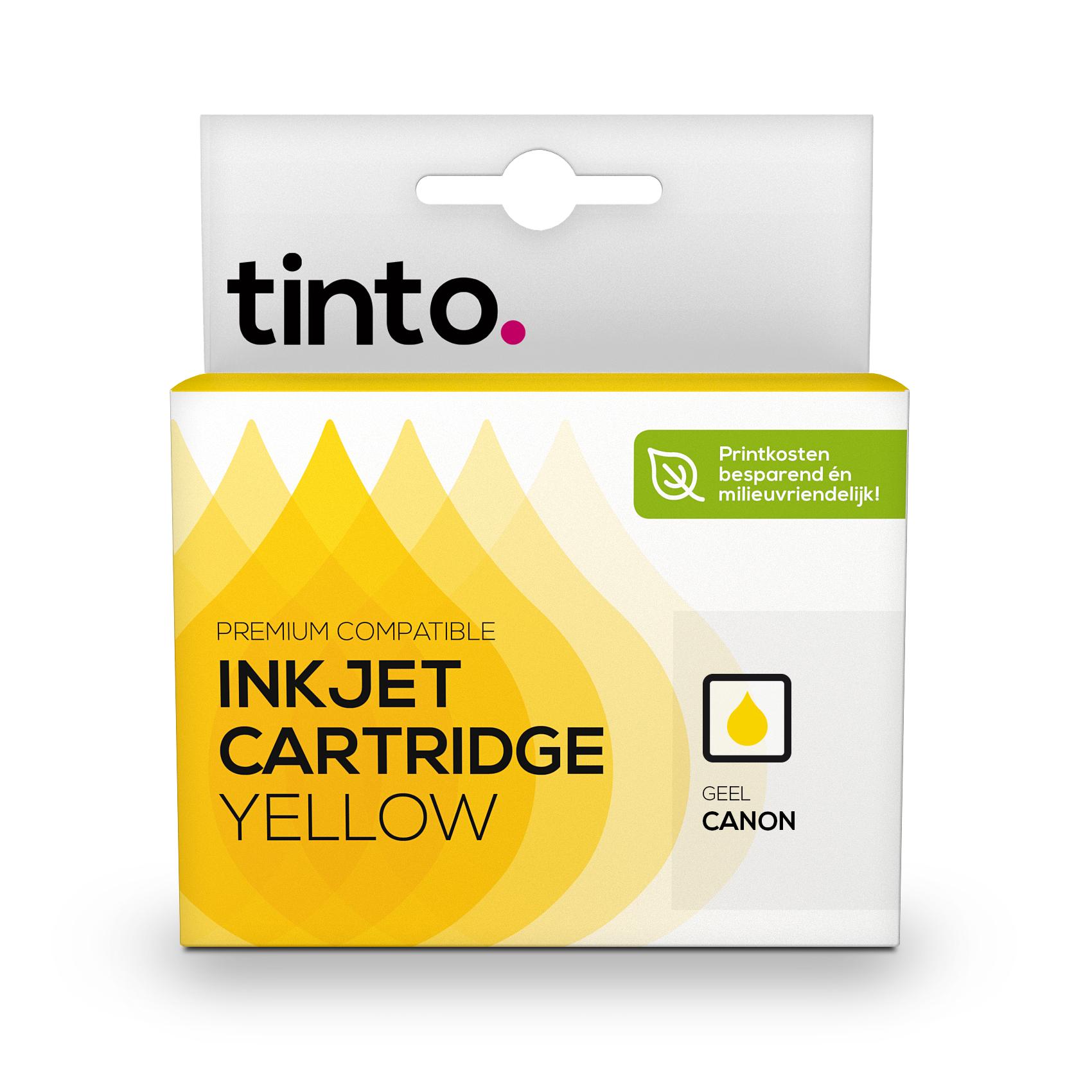 Canon CLI-526Y, Geel | Tinto Huismerk